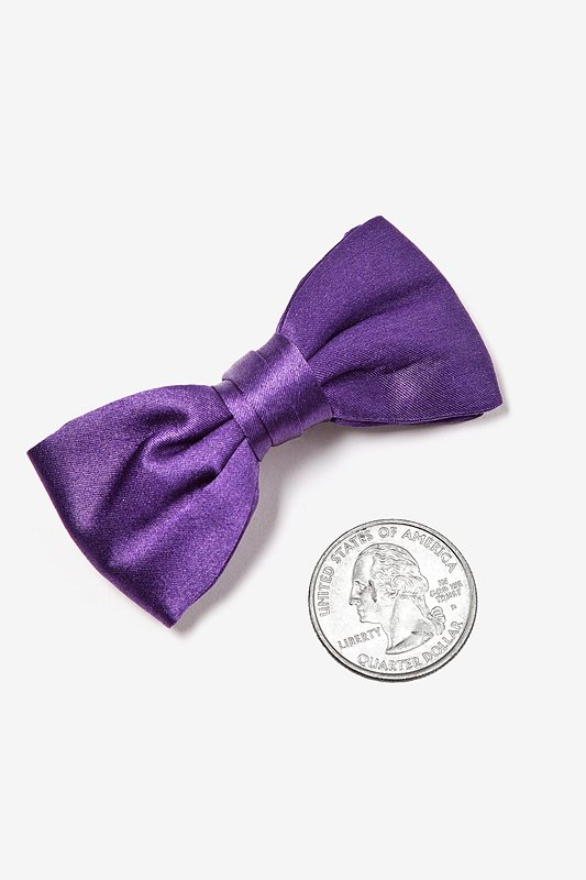 Concord Grape Bow Tie For Infants
