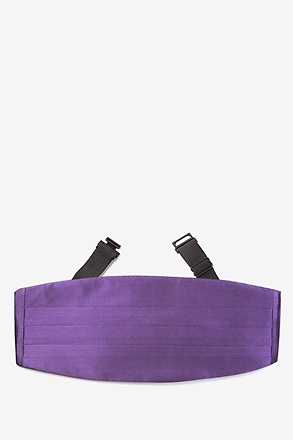Concord Grape Cummerbund