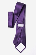 Concord Grape Extra Long Tie