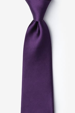 _Concord Grape Extra Long Tie_