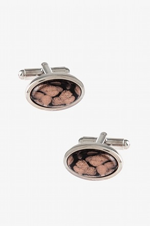 Starry Oval Cufflinks