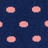 Coral Carded Cotton Power Dots