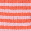 Coral Carded Cotton Seal Beach Stripe