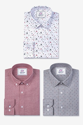 Keep it Bold Coral Shirt Pack
