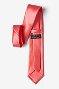 Coral Extra Long Tie Photo (2)