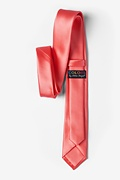 Coral Skinny Tie Photo (2)