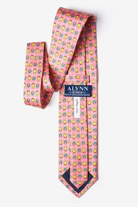 Chick Magnet Coral Tie