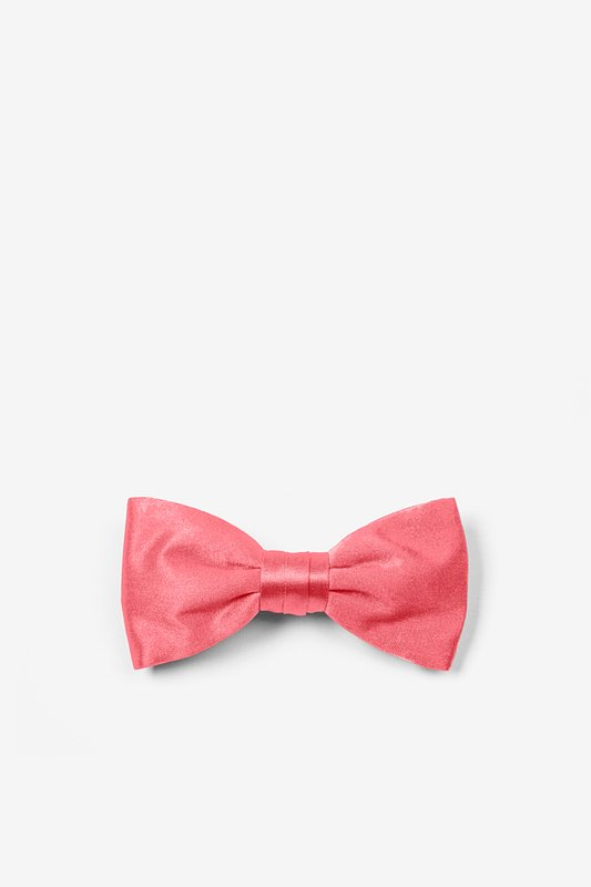 Coral Bow Tie For Infants Photo (0)