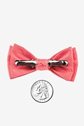 Coral Bow Tie For Infants Photo (1)
