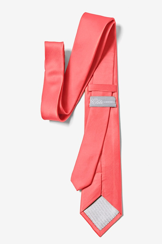 Coral Tie For Boys