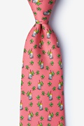 Mint Condition Coral Tie Photo (0)