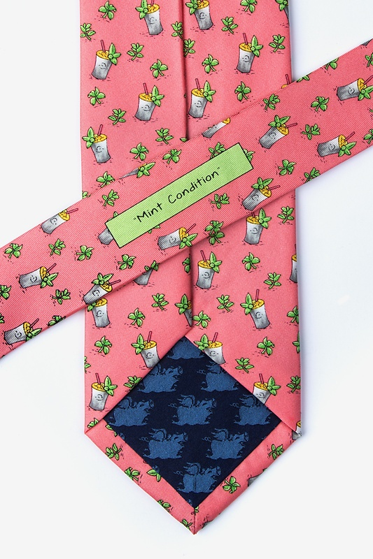 Mint Condition Coral Tie Photo (2)