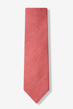 Coral Amsterdam Solid Tie