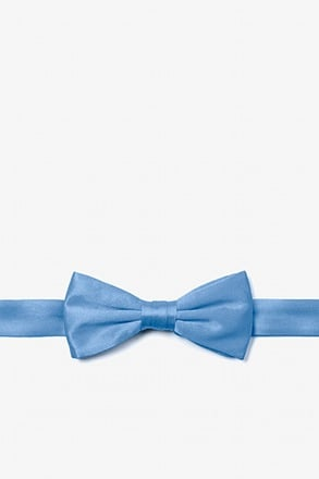 Cornflower Blue Bow Tie For Boys