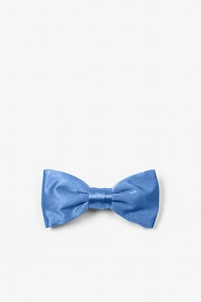 Cornflower Blue Bow Tie For Infants