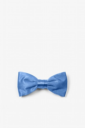 _Cornflower Blue Bow Tie For Infants_
