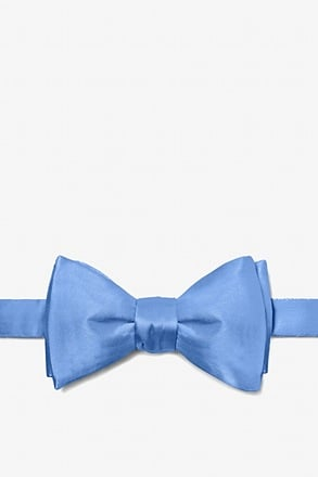 _Cornflower Blue Self-Tie Bow Tie_
