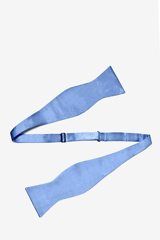 Cornflower Blue Self-Tie Bow Tie Photo (1)