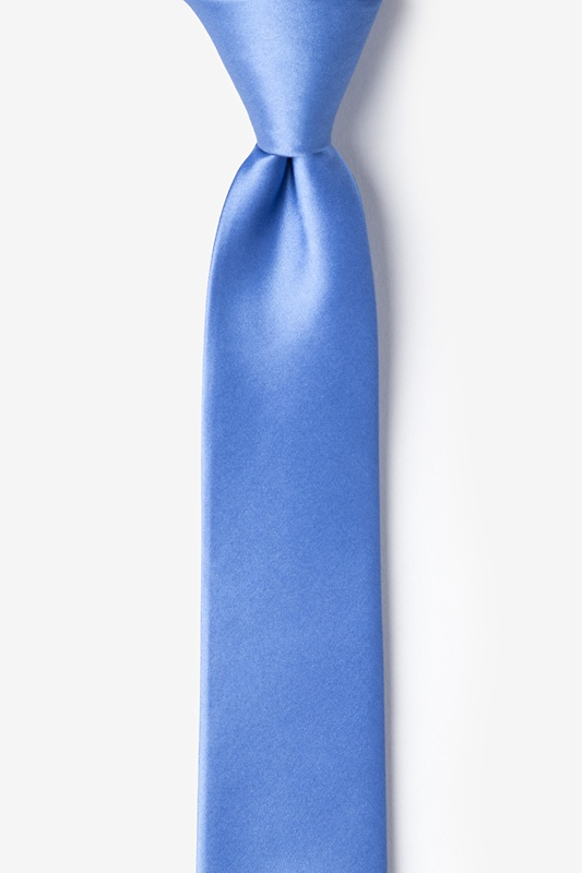 Cornflower Blue Tie For Boys Photo (0)