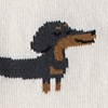 Dachshund | Weiner Dog Cream Women's Sock