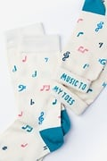 Music To My Toes Women's Sock