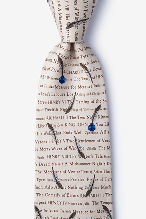 Shakespeare's Play Tie