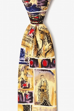 Shakespeare Cream Tie