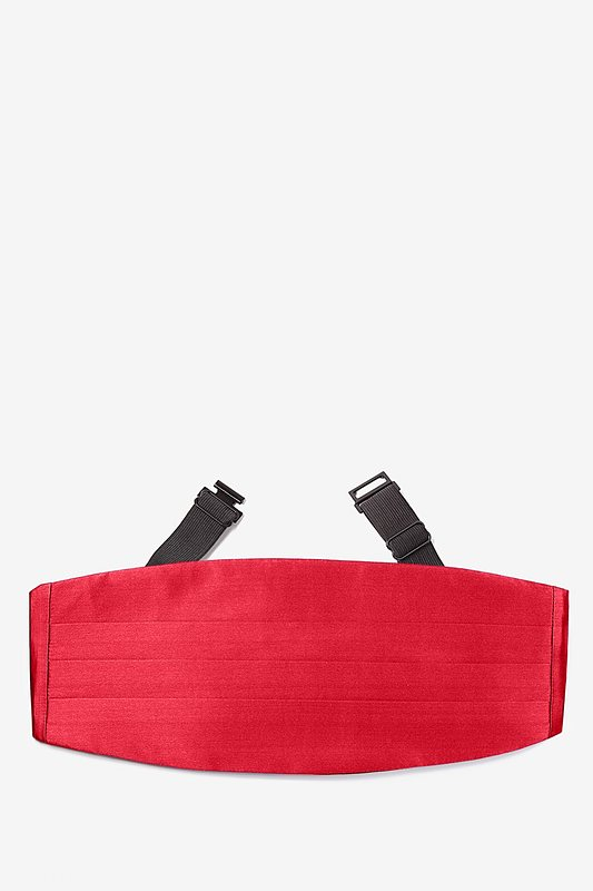 Crimson Red Cummerbund Photo (0)