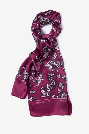 Hepatitis B Oblong Scarf