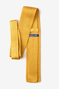 Textured Solid Knit Tie Photo (1)