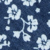 Dark Blue Cotton Bluebell Extra Long Tie