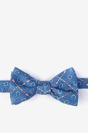 _Cream of the Crop Dark Blue Self-Tie Bow Tie_