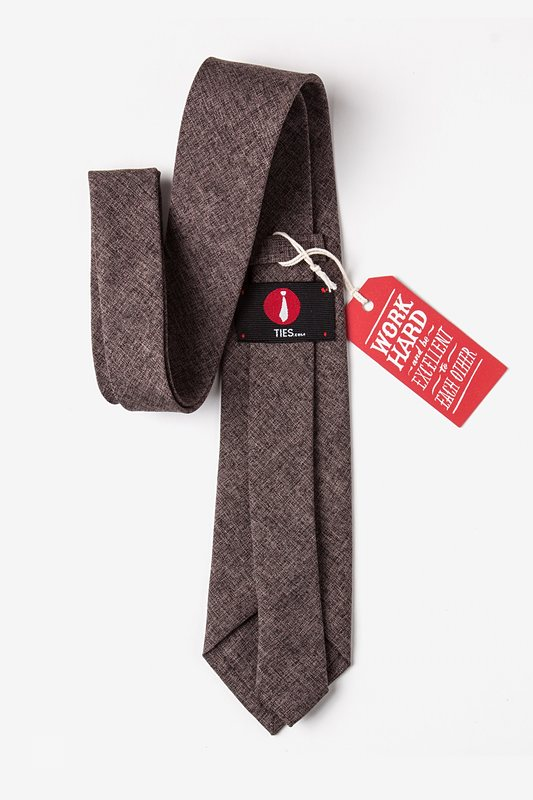 Galveston Dark Brown Tie Photo (2)