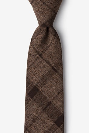 Kirkland Dark Brown Extra Long Tie