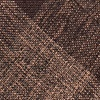 Dark Brown Cotton Kirkland Pocket Square