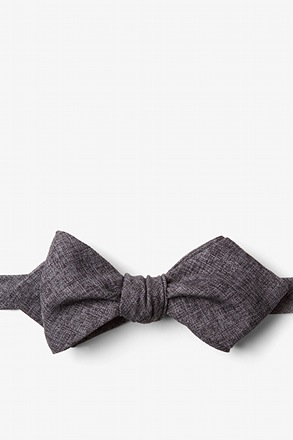 Galveston Diamond Tip Bow Tie