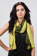 Ariel Dark Green Scarf by Scarves.com