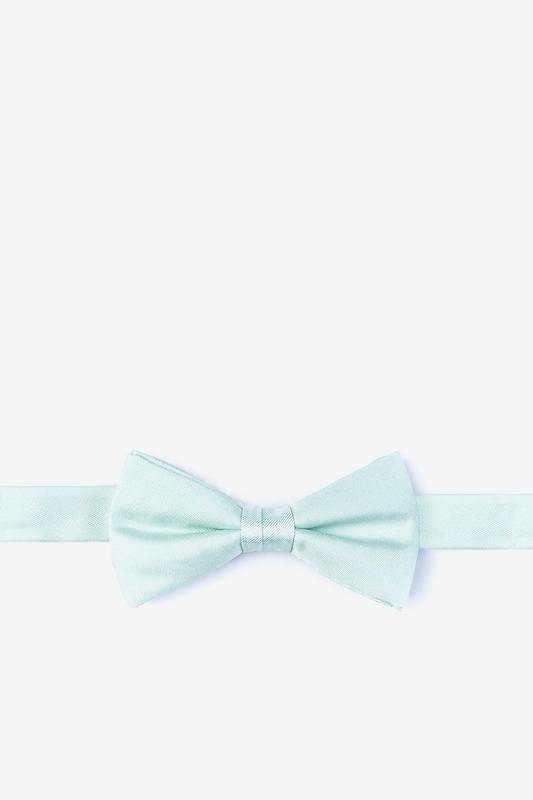 Dusty Mint Bow Tie For Boys Photo (0)
