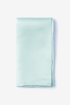 _Dusty Mint Pocket Square_