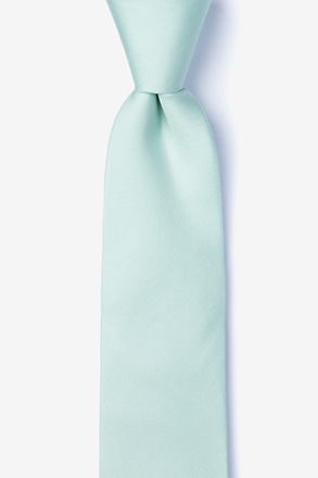 Dusty Mint Tie For Boys