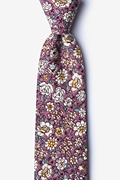 Dusty Rose Cotton Brook Extra Long Tie