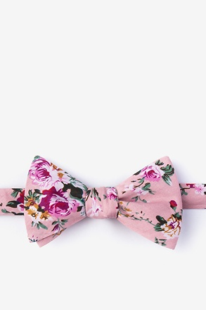 _Nottingham Dusty Rose Self-Tie Bow Tie_