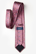 Blossoms Dusty Rose Extra Long Tie Photo (2)