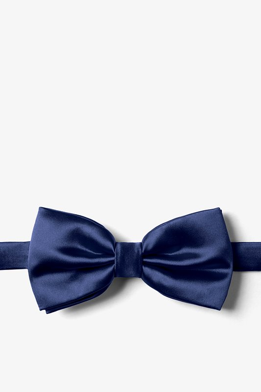 Eclipse Blue Pre-Tied Bow Tie Photo (0)