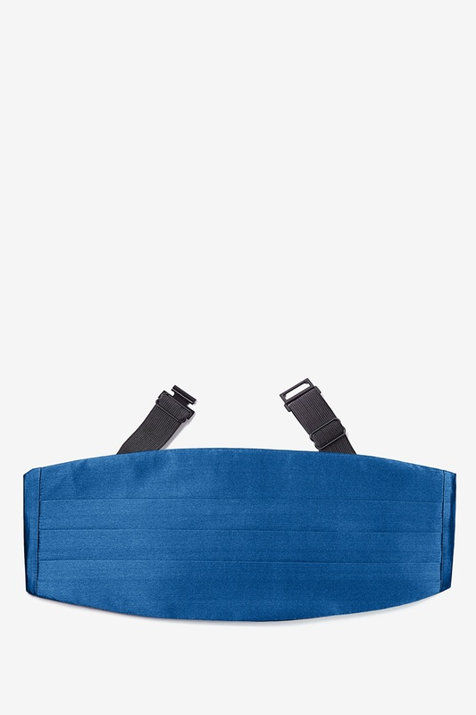 French Blue Cummerbund