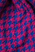 Fuchsia Berlin Houndstooth Scarf by Scarves.com