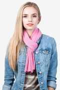 Candy Stripe Scarf by Scarves.com