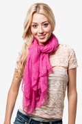 Marilyn Sparkle Fuchsia Scarf by Scarves.com