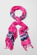 Ribbon Stripe Scarf by Scarves.com