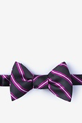 Fuchsia Silk Barrow Self-Tie Bow Tie